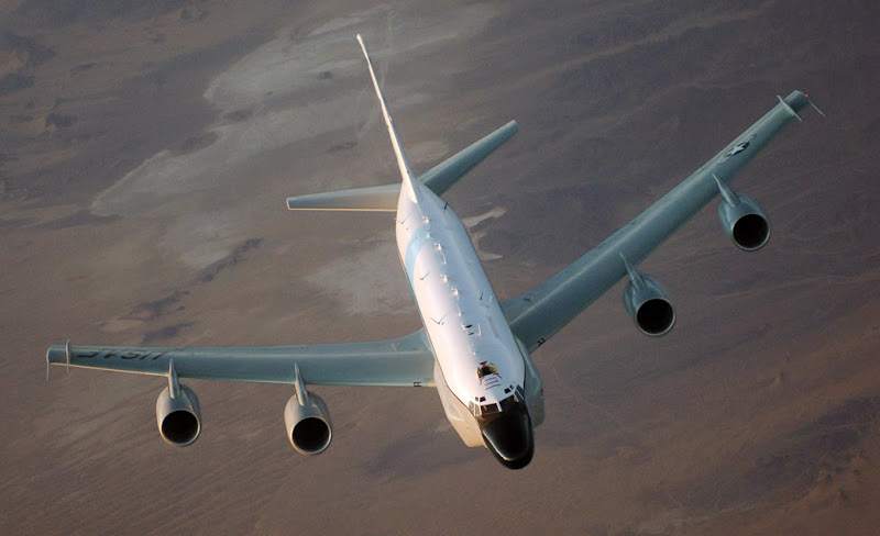 RC-135 Rivet Joint USAF Reconnaissance Aircraft