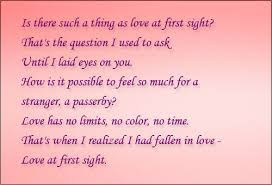 cute quotes about love at first sight