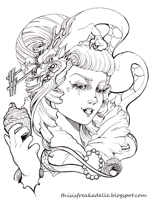 Tattoo Outline Drawings