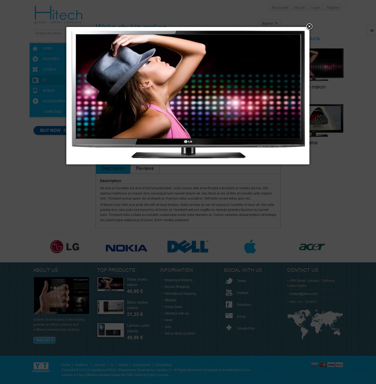 SJ-AppStore-HiTech-Free-Premium-eCommerce-Joomla-Template