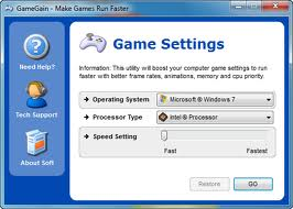 GameGain v2.11 -  Make Game Run Faster