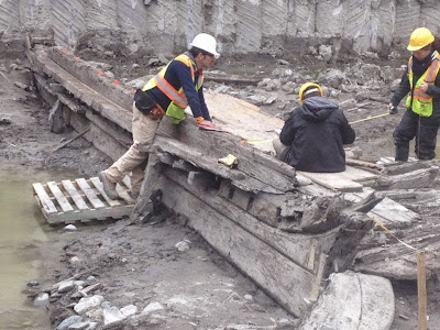 Possible 1830s American Schooner found in Toronto Harbour Ontario