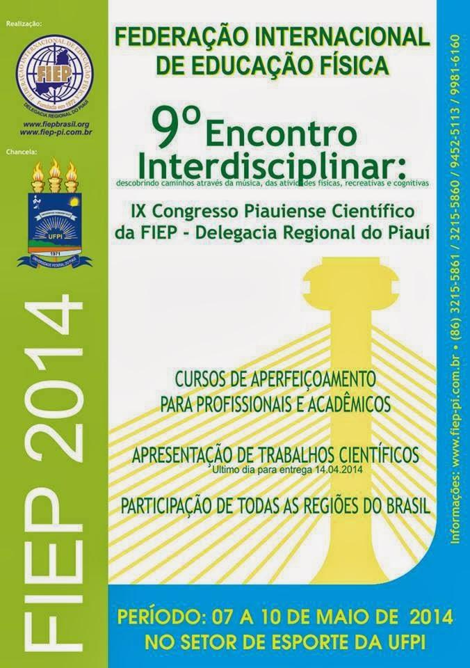 9º Encontro Interdisciplinar Piauiense
