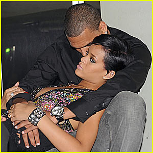 Rihanna and her ex Chris Brown are