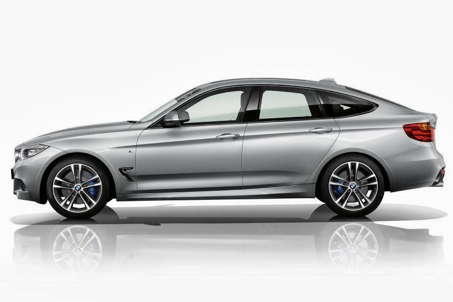 BMW 3 Series Gran Turismo M Sport (2013) Side