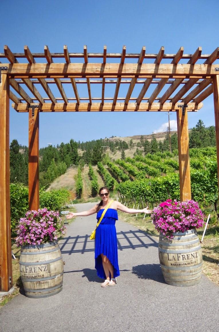 Entry to La Frenz Winery- BTBU