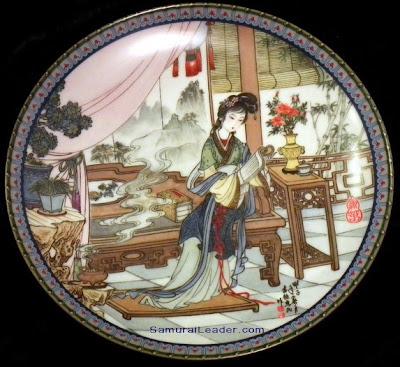 Ying-chun plate Imperial Jingdezhen Porcelain