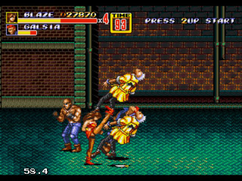Streets of Rage game PC