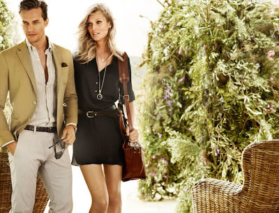 Campaa Massimo Dutti primavera- verano 2013
