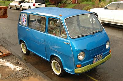 1969 Subaru 360 Van.