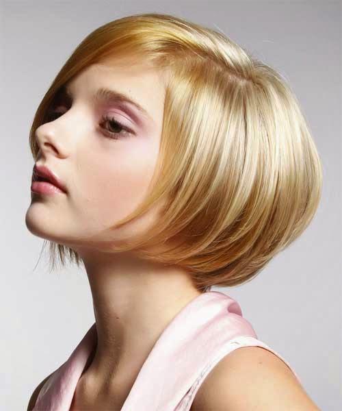 tatanan rambut pendek model bob