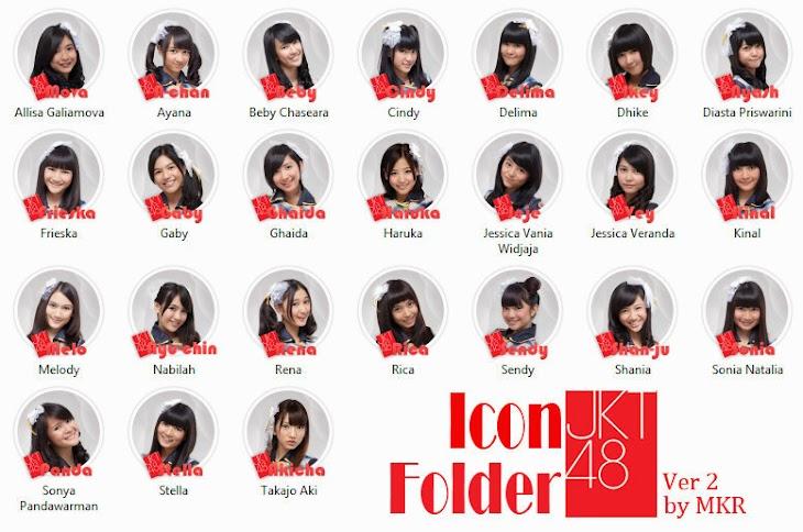 Icon Folder JKT48 Versi 2.0 by MKR