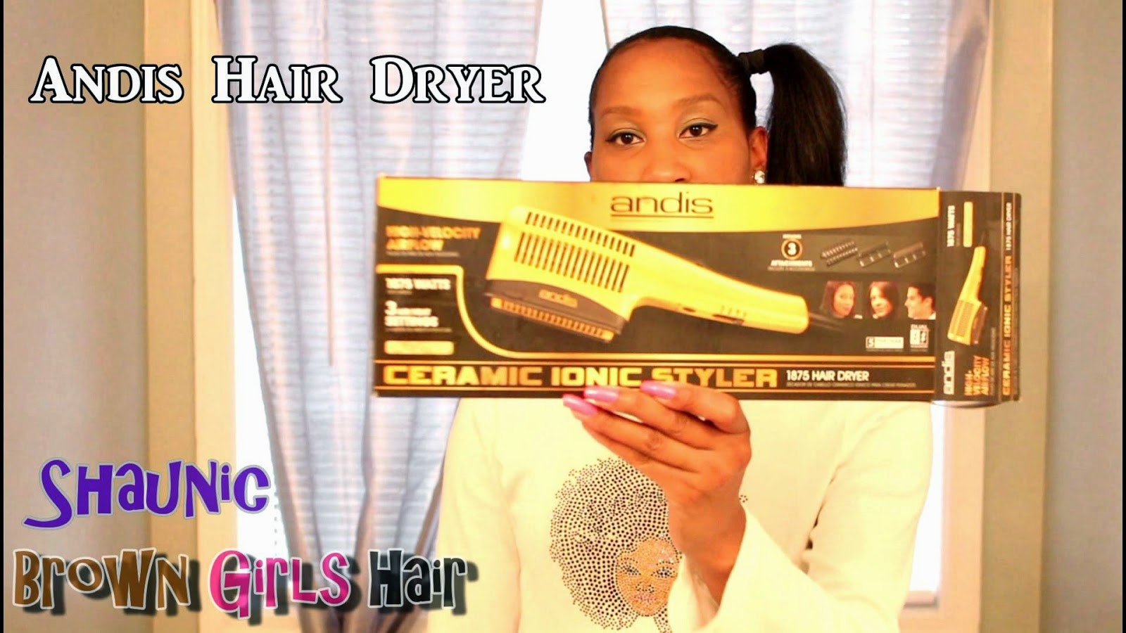 How to, Blow Dry, Natural, Black, Girls, Women, Hair, Andis