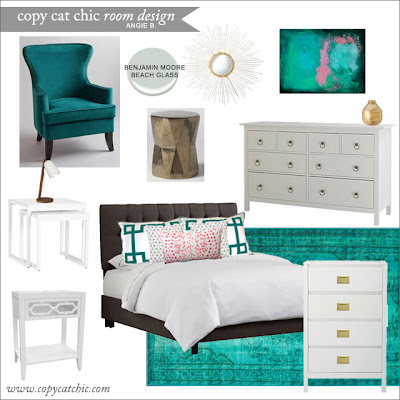 The Little Decorator Storyboard For A Girl S Bedroom