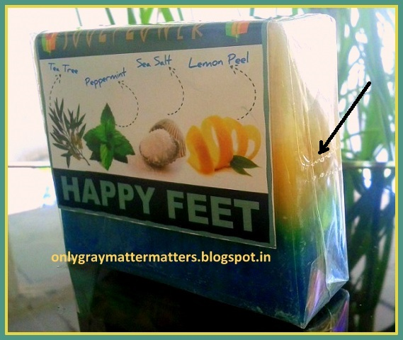 Handmade Soaps tips tricks Souflower Happy Feet Soap Review