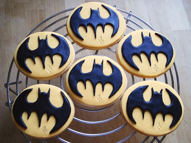 galletas, galletas fondant, fondant, batman, galletas de superhéroes,