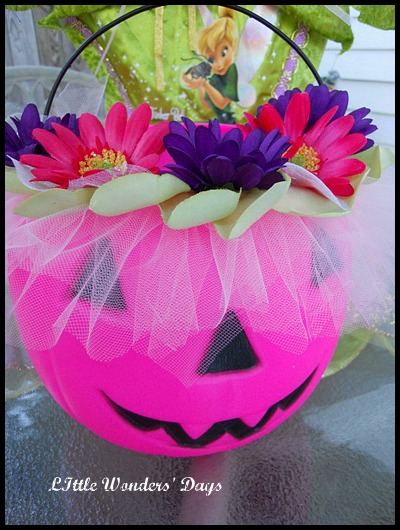 Fairy Halloween Bucket
