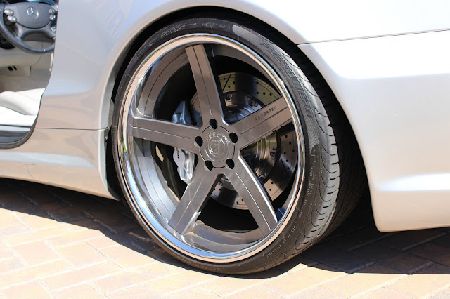 mercedes benz r20 d2forged wheels