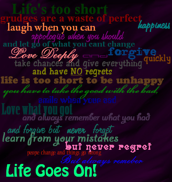 Top Quotes About Life Goes On 549 x 582 · 139 kB · jpeg