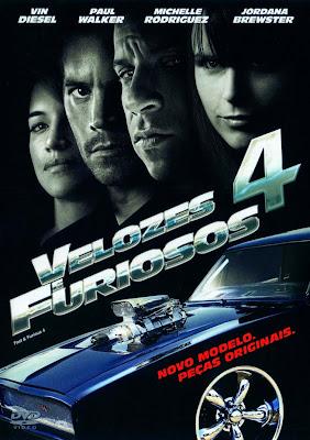 Velozes e Furiosos 4 - DVDRip Dual Áudio