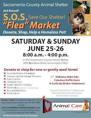Flea Market to Benefit Sac County Shelter June 25-26