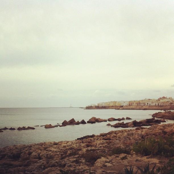 Colpoditacco il mare d 39 inverno gallipoli salento - Finestra sul mare gallipoli ...