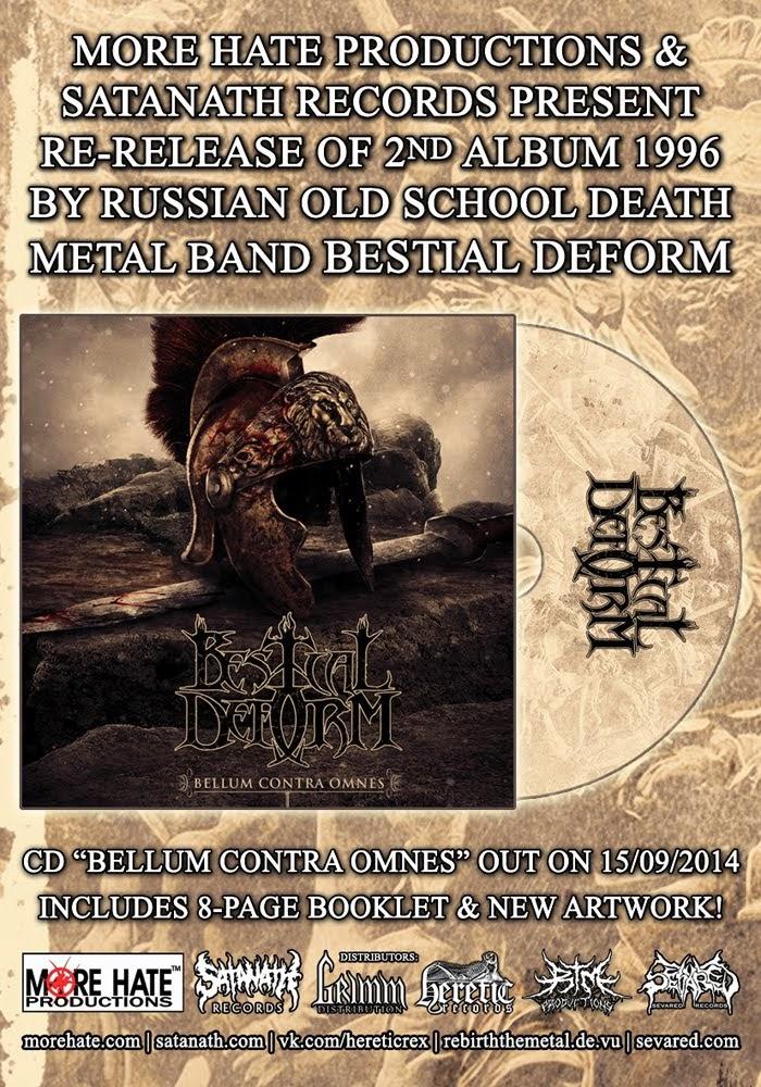 Bestial Deform – Bellum Contra Omnes