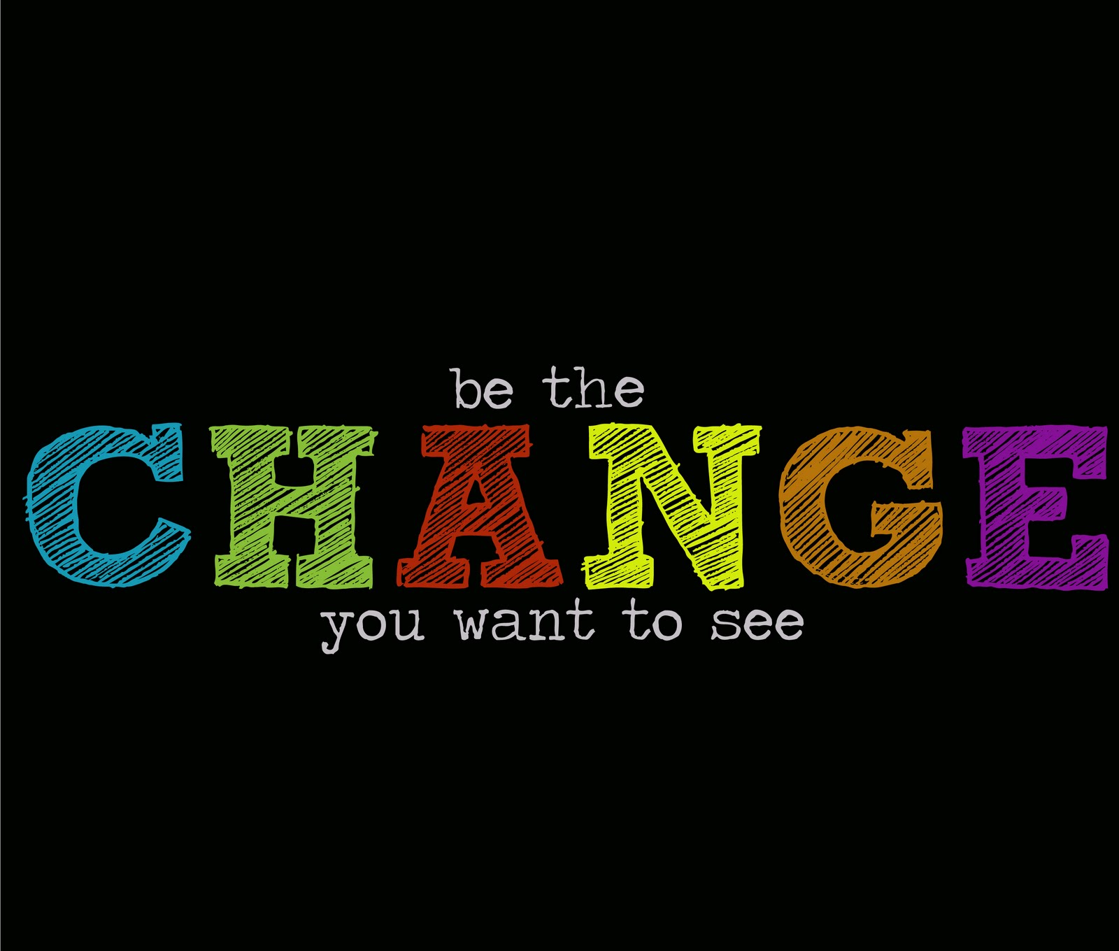 shine design 4 him be the change you want to see