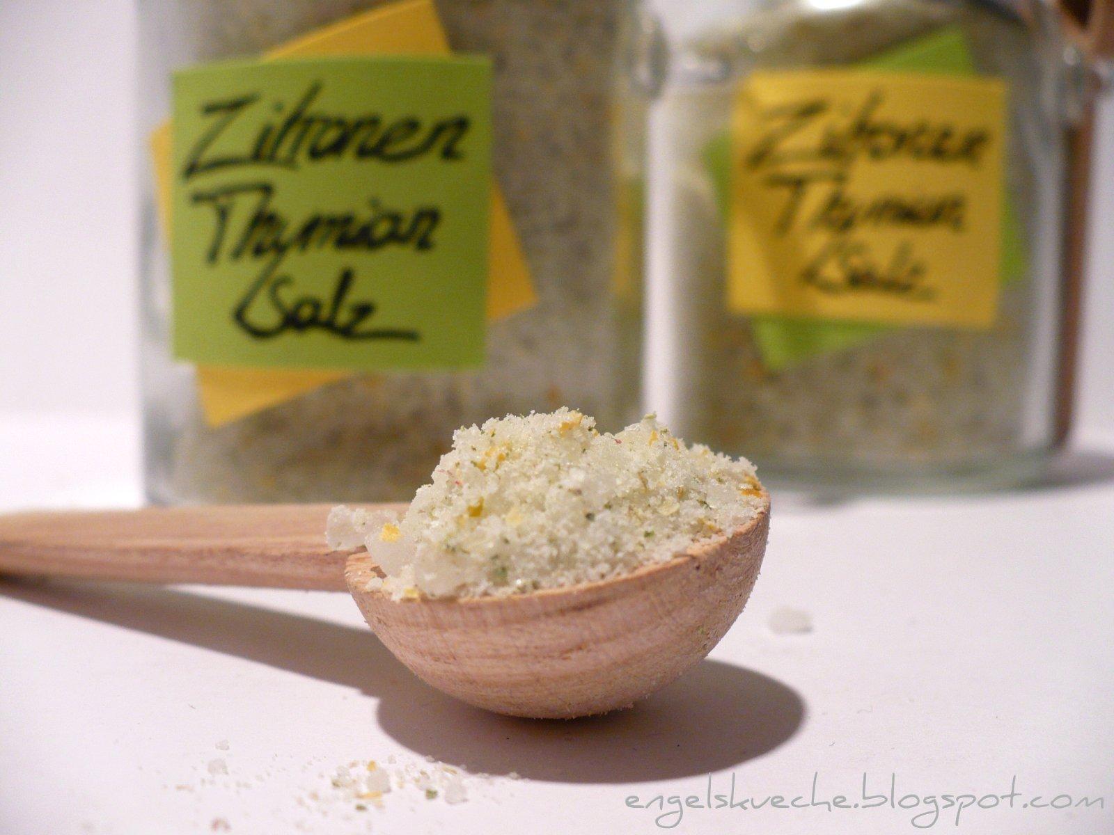 Essen aus Engelchens Küche: Zitronen-Thymian-Salz