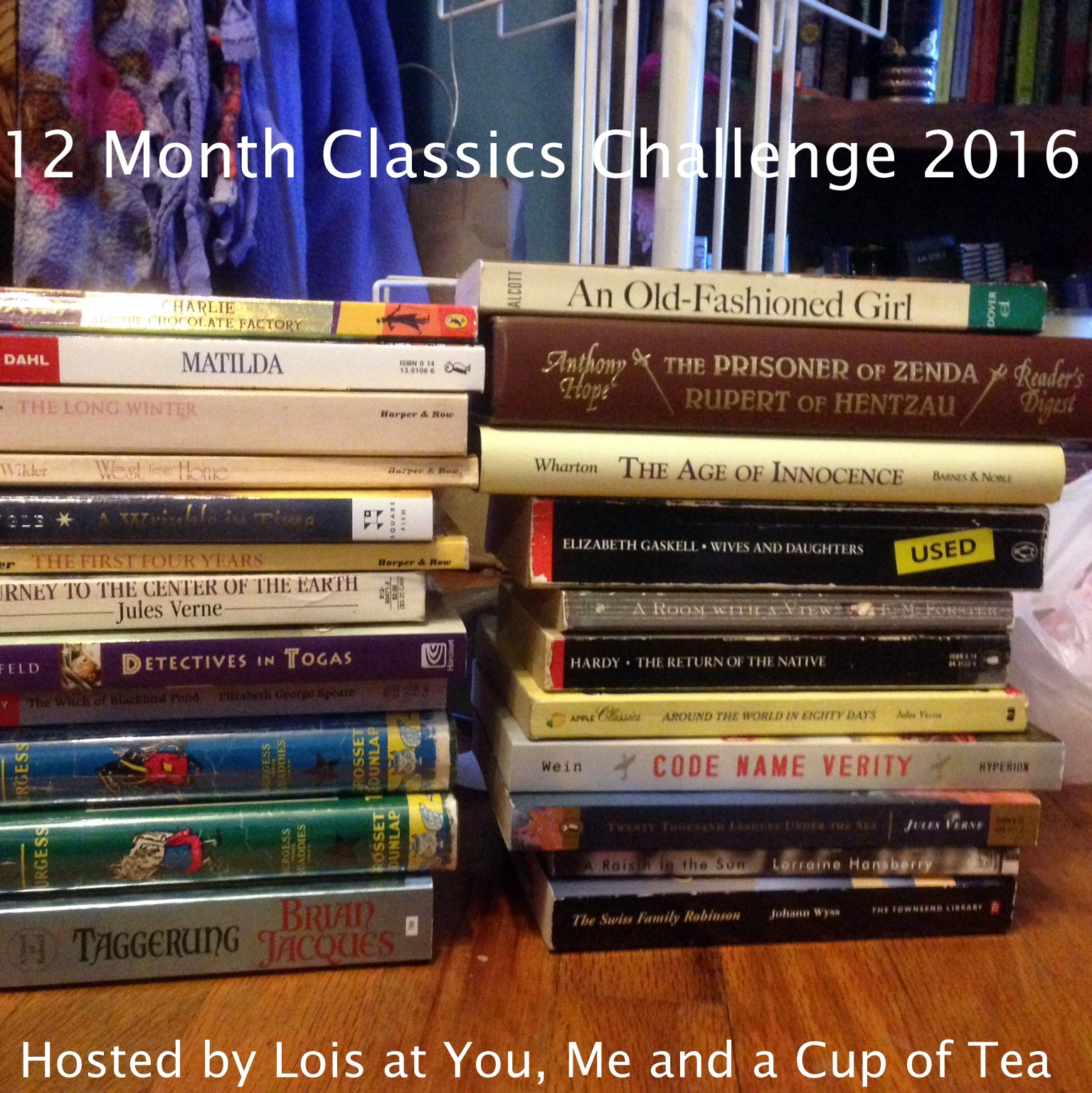 Sign up for the 2016 12 Month Classics Challenge