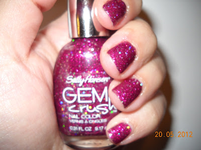 lady luck sally hansen gem crush glitters nails uñas nail polish esmaltes