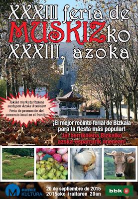XXXIII Feria Agrícola y Ganadera de Muskiz