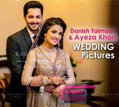 Danish Taimoor and Ayeza Khan Wedding Pictures Album