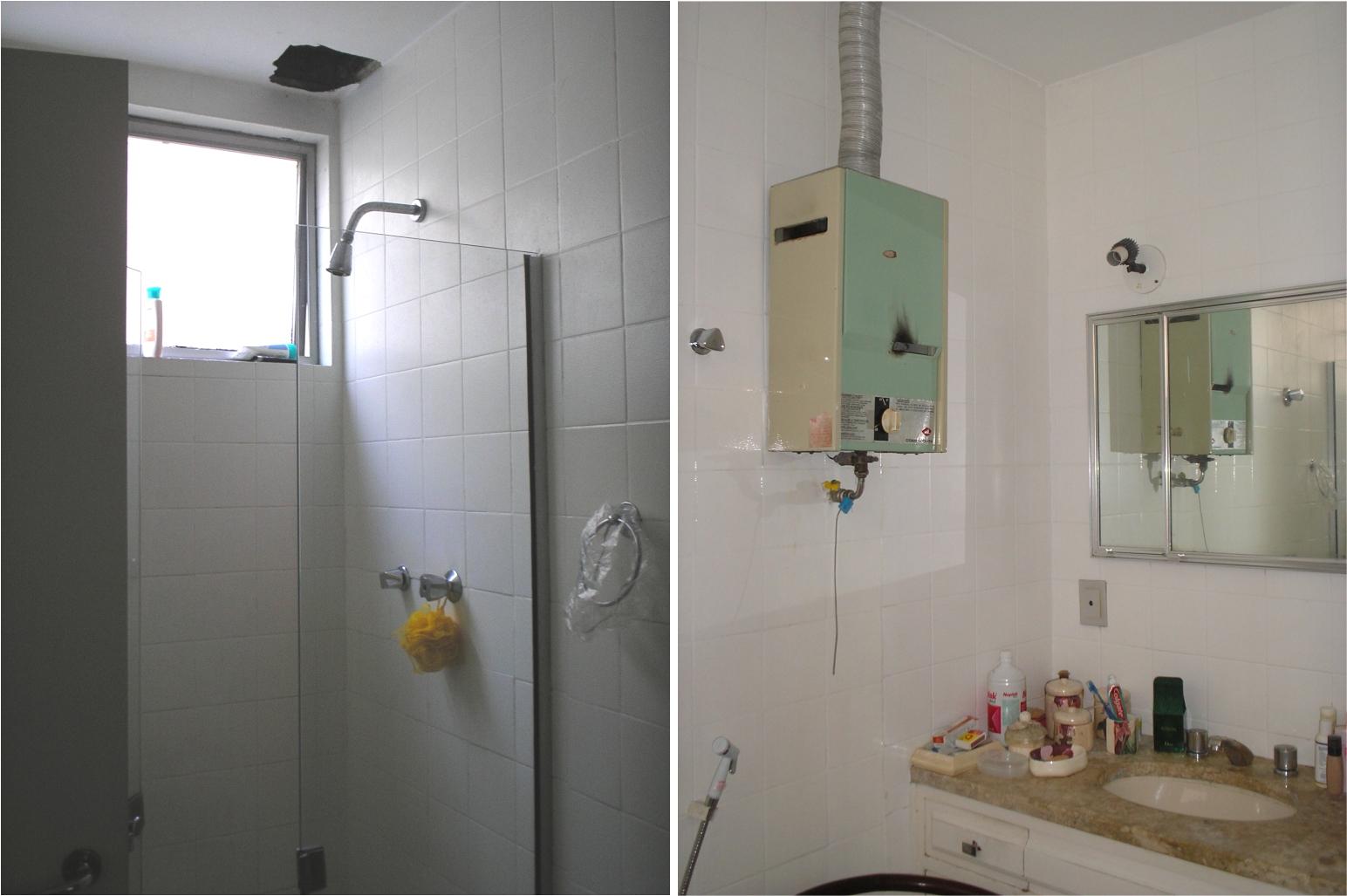 MARIA HELENA TORRES: REFORMA DE BANHEIRO 13 BANCADA PRÁTICA #604C38 1544x1027 Banheiro Com Bancada