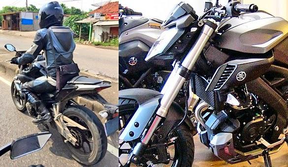Desain Motor Yamaha MT25 a.k.a Yamaha R25 Versi Naked