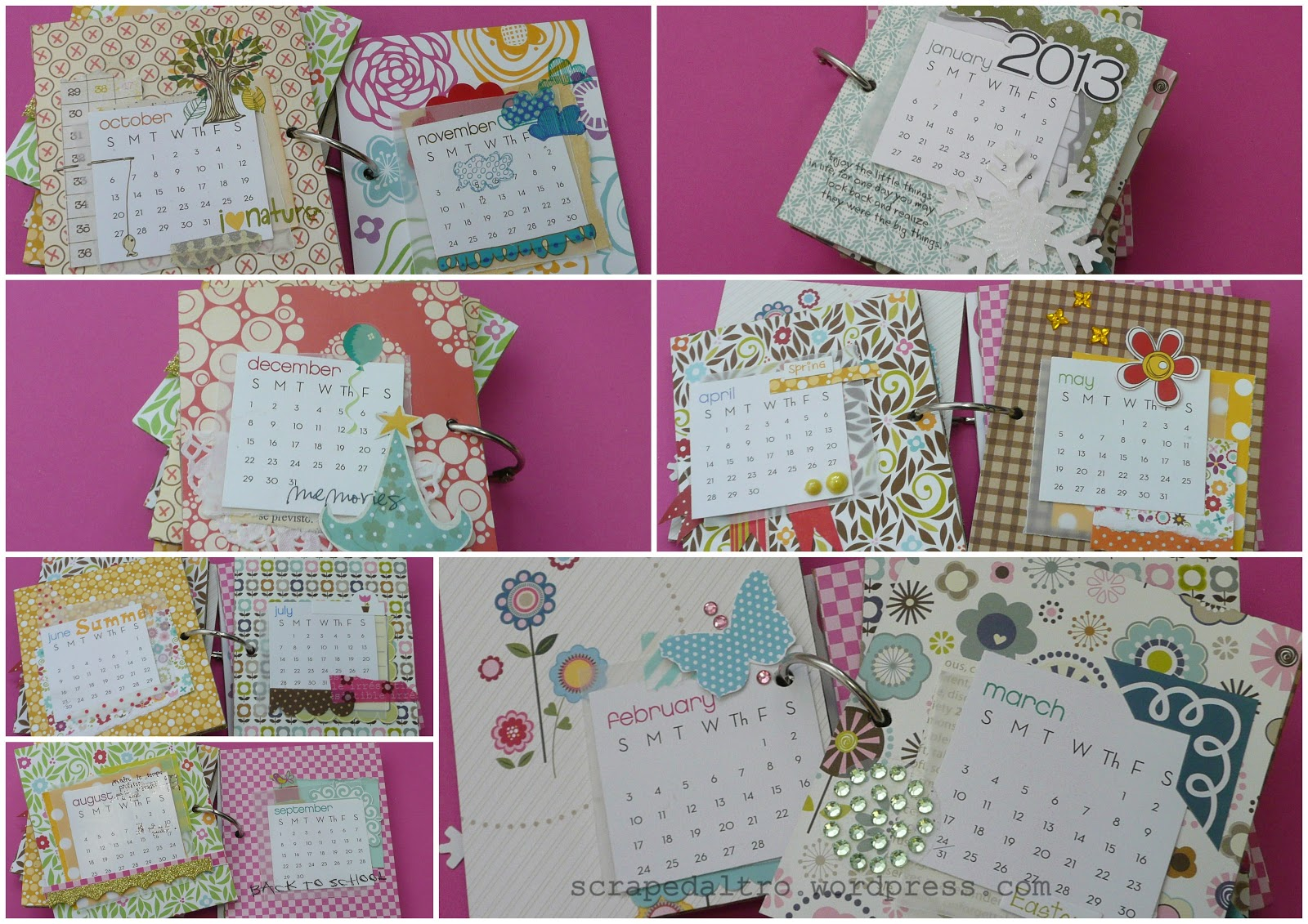 1 post creativo al giorno 4 365 calendario da tavolo - Calendari da tavolo con foto ...