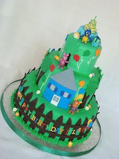 Backyardigans Birthday Cake Designs