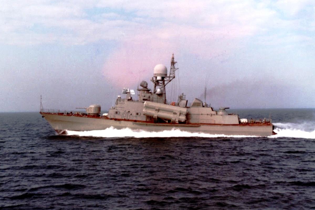 Molniya Class Corvette Ship 3