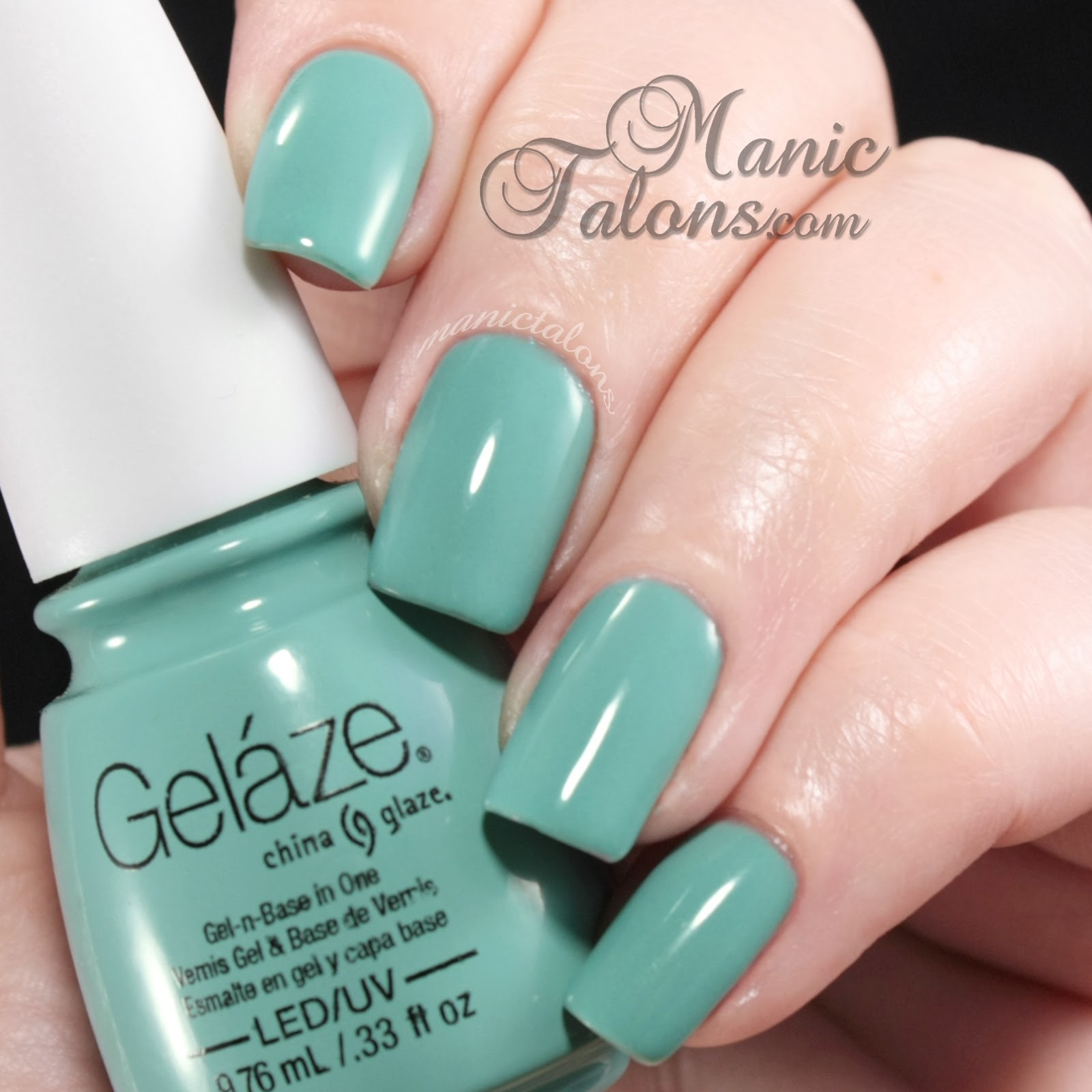 China Glaze Gelaze Gel Polish For Audrey Swatch