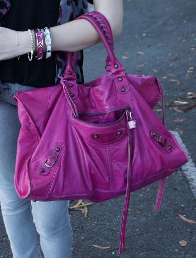 Fuschia Pink Shoes Size