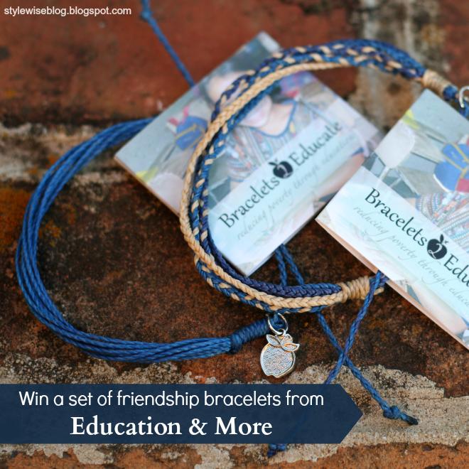 bracelets 2 educate giveaway