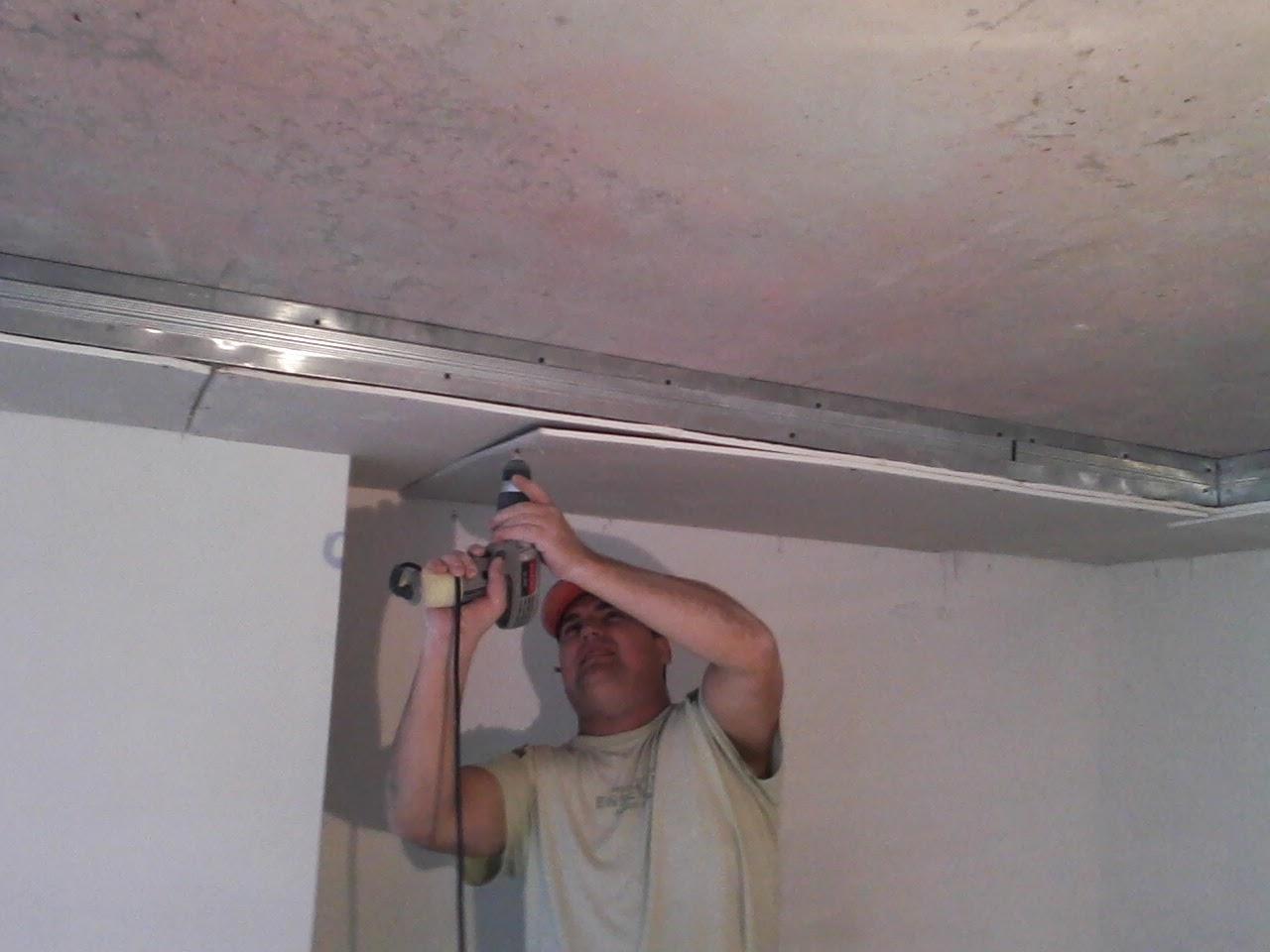 Короб для потолка своими руками
