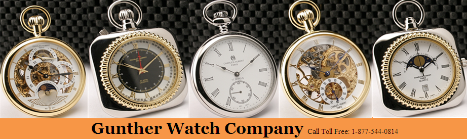 Large Collection of Pocket Watches at Gunther Watch Company
