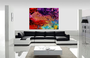 "Abstract Painting ""Dream World"" by Dora Woodrum"