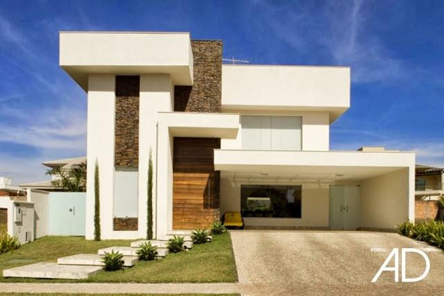 Casas modernas estilo de vanguardia fachadas de casas for Fachadas de casas modernas wikipedia