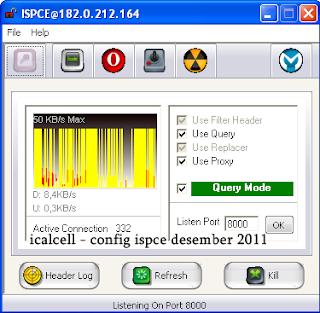 Internet Gratis Telkomsel Desember 2011 - Config ISPCE Telkomsel Desember 2011