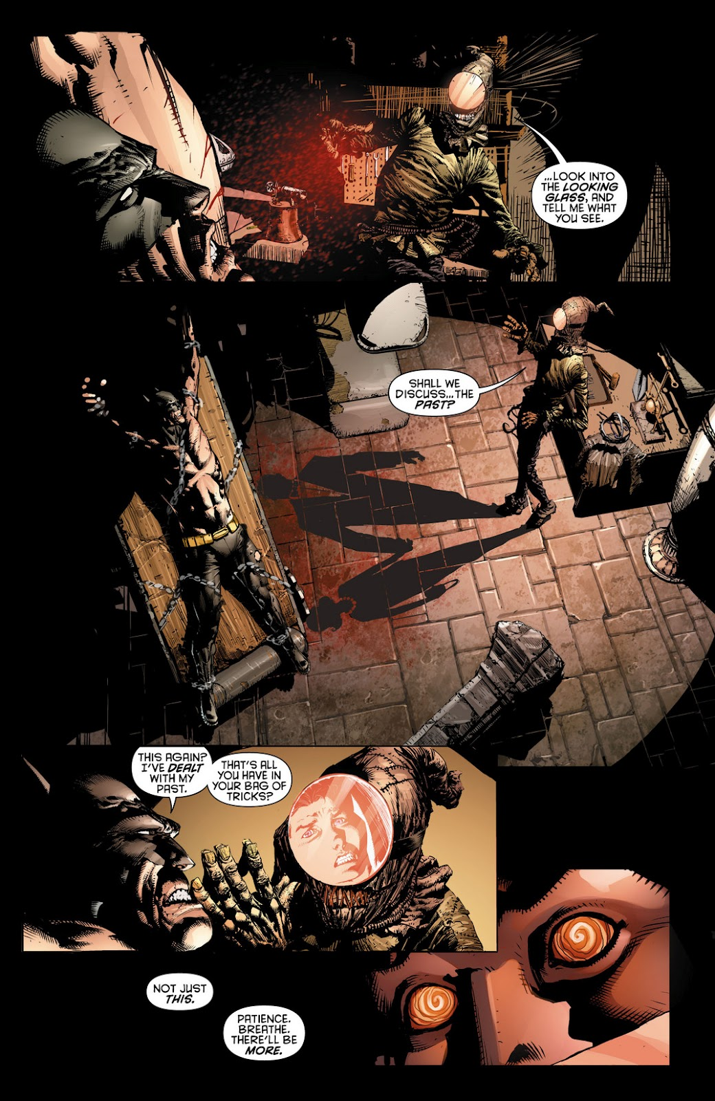 Scarecrow Batman Comic New 52 Released by the scarecrow,