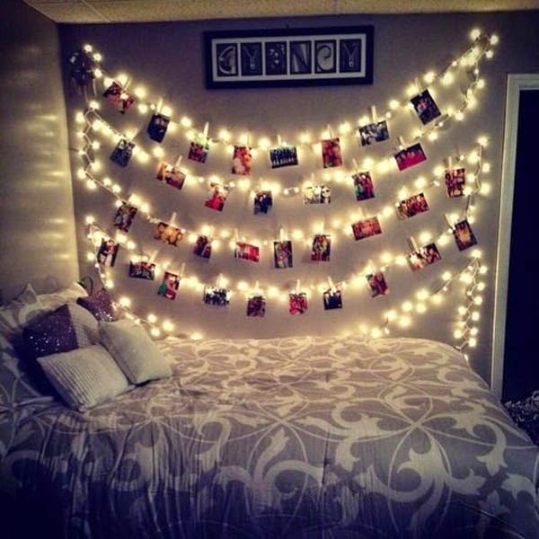 Add a bit touch of romance to your bedroom with the twinkling led string  lights  It s very easy and cost efficient to do this. Lightshare  DIY Decorative String Lights for Home Decor