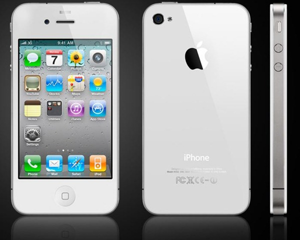 The white iPhone 4 has been