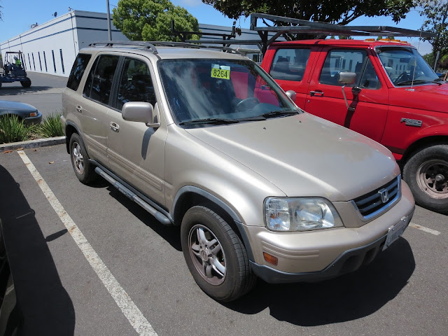 Honda CR-V after collision repairs at Almost Everything Auto Body